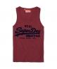 Superdry Vintage Logo Vest Red