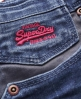 Superdry Carpenter Shorts Blue