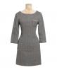 Superdry Gentry Tweed Dress Brown