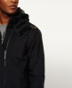 Superdry Pop Zip Hooded Arctic SD-Windcheater Jacket Black