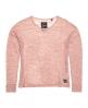 Superdry Nevada Springs Slub Knit Top  Pink