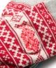 Superdry Fairisle Socks Red