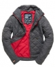 Superdry Core Quilt Jacket Light Grey
