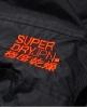 Superdry極度乾燥 Technical Pop Zip SD-Windcheater 連帽防風夾克 黑色