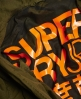 Superdry Parka con bordo a coda di pesce Rookie  Verde