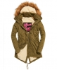 Superdry Cazadora con capucha de pelo Winter Rookie Military  Verde