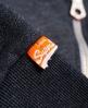 Superdry Orange Label Primary Zip Hoodie Navy