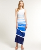 Superdry Super Sunrise Maxi Dress Blue