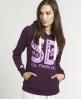Superdry Locket Hoodie Purple