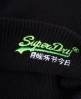 Superdry Basic Embroidery Beanie Black