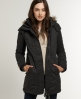 Superdry Hooded Super Windcheater Coat Grey