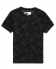 Superdry Dry Hawaiian Leaf T-Shirt Dark Grey