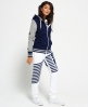 Superdry Diagonal Sports jogger  Wit