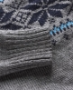 Superdry Whistler Fairisle Crew Grey