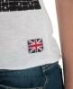 Superdry Low Slung Punk T-shirt White