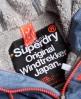 Superdry Cazadora con capucha Winter Windtreker Azul