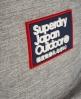 Superdry Super Marl Montana Rucksack Hellgrau