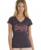 Superdry vintage vee t-shirt Purple