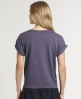 Superdry Warriors Cropped T-shirt Purple