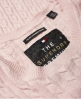 Superdry Summer Luxe Mini Cable Knit Jumper Pink