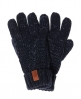 Superdry North Cable Knit Gloves Navy