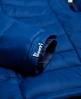 Superdry Cazadora con capucha y cremallera doble Fuji Azul