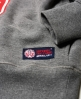 Superdry Tri League Slouch Hoodie Grey