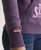 Superdry Pick Hoodie Purple
