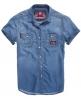 Superdry Loom Lite Shirt Blue