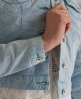 Superdry Skinny Cord Denim Jacket Blue