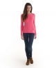 Superdry Croyd Cable Crew Pink