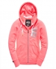 Superdry Osaka 6 Zip Hoodie Orange