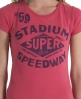 Superdry Stadium T-shirt Pink