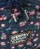Superdry Stem Floral Montana Rucksack Navy