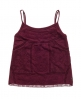 Superdry Folk Patch Cami Top Red