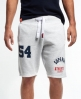 Superdry Trackster Sweat Shorts Light Grey