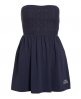 Superdry Folk Stitched Summer Dress Navy