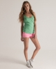 Superdry Embroidered Pocket Tank Green