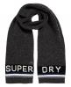 Superdry Super S.D. Logo Scarf Grey