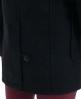 Superdry classic duffle coat Black