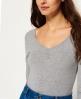 Superdry Essentials Sleeved Body Grau