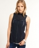 Superdry Victoriana Blouse Navy