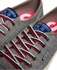 Superdry Baskets basses College Pro Luxe Gris Clair