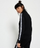 Superdry Fashion Fitness Tricot Track Top  Black