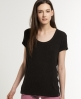 Superdry Luxury Slouch T-shirt Black