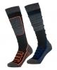 Superdry SD Merino Snow Socks Double Pack Dark Grey