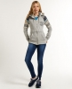 Superdry Sunscorched Zip Hoodie Grey