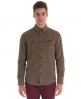 Superdry Lumberjack Wale Shirt Brown
