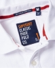 Superdry Classic Cali Pique Polo Shirt White
