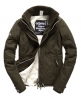 Superdry Sherpa Quilted Windcheater Jacket Green